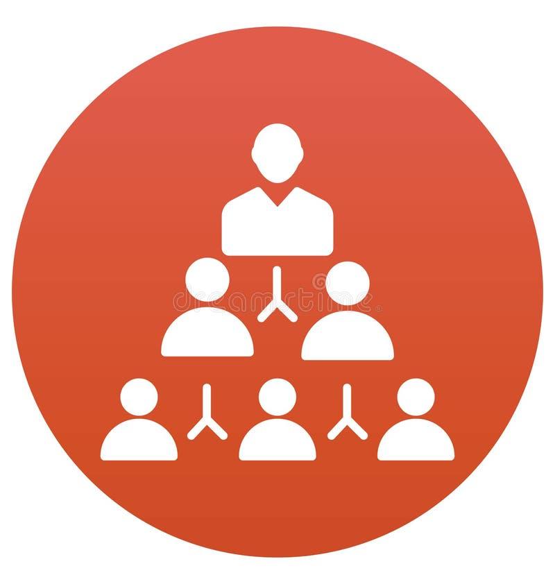 合作,企业队被隔绝的传染媒介象可以容易地是编辑并且修改 库存例证