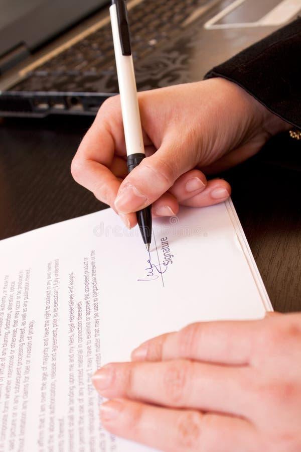 合同唱歌 免版税库存图片