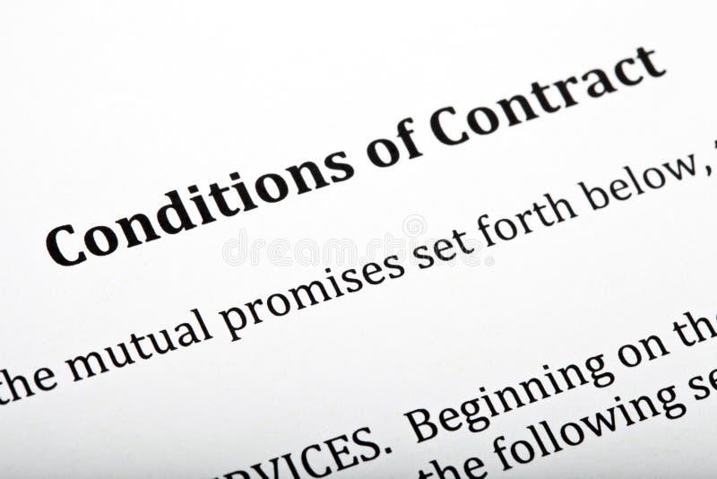 合同 条件