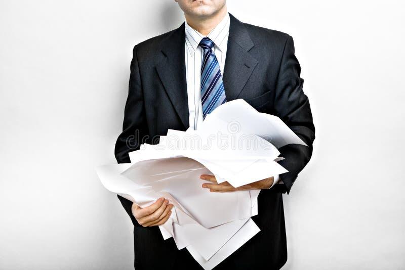 合同 免版税库存图片