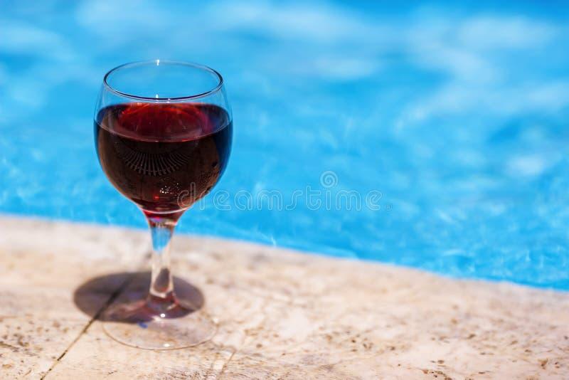 合并酒 免版税库存图片