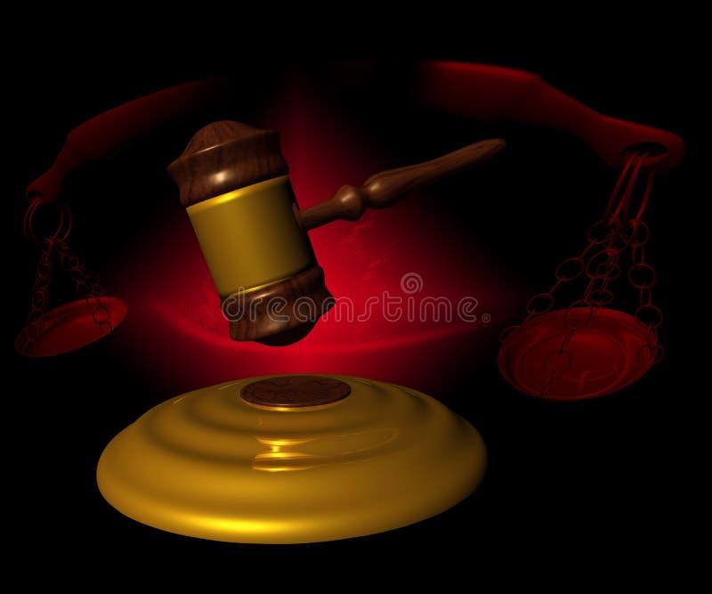 合法的概念 向量例证