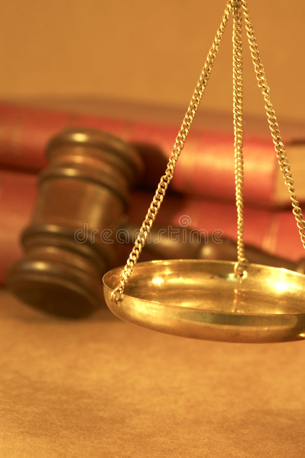 合法的概念 免版税库存照片