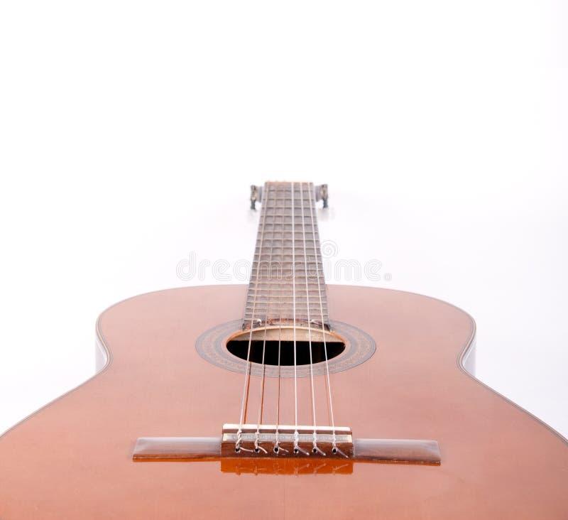 吉他减速火箭的西班牙语 库存照片