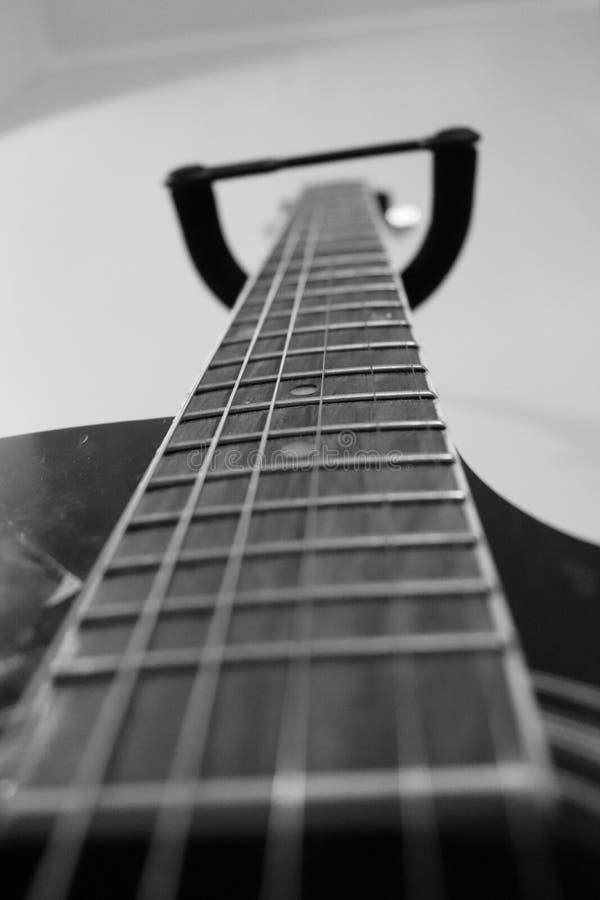 吉他夹子 免版税库存照片