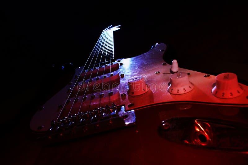 吉他梦想 免版税库存照片