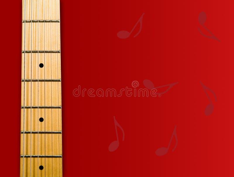 吉他脖子s 图库摄影