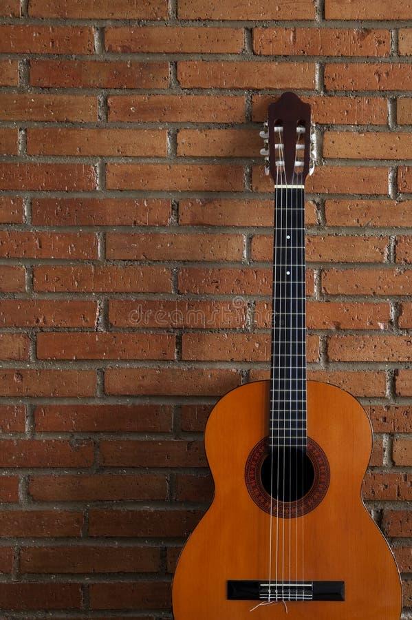 吉他西班牙语 免版税库存图片