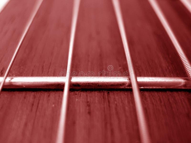 吉他跟踪 免版税库存图片
