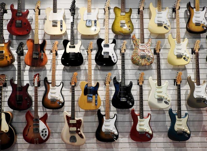 吉他长城  免版税库存照片