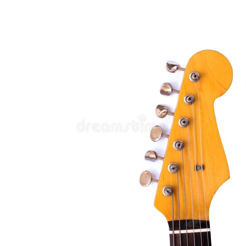 吉他题头 免版税库存图片