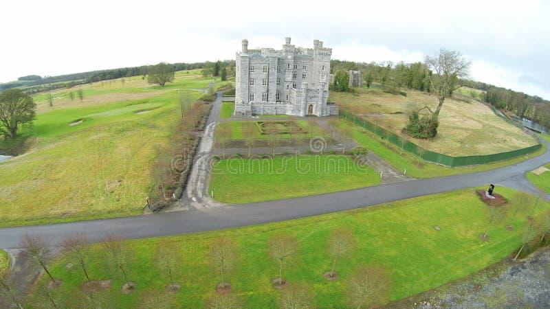 吉利恩城堡米斯郡爱尔兰 库存图片