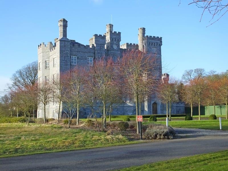 吉利恩城堡米斯郡爱尔兰 免版税库存照片