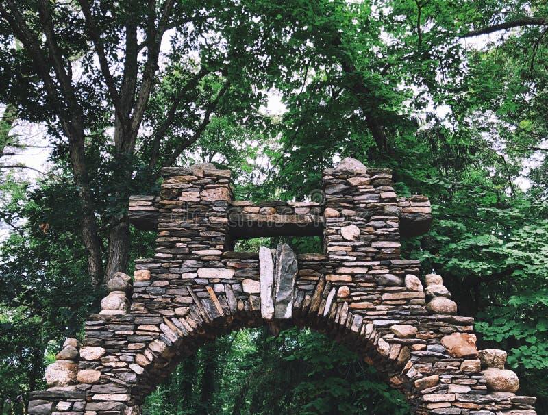 吉勒特城堡石头大厦 库存图片