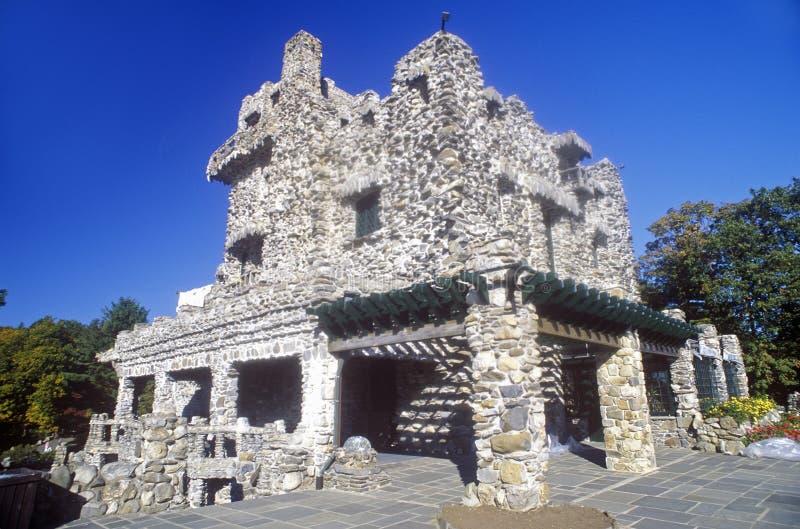 吉勒特防御国家公园,东部Haddam,康涅狄格 免版税库存图片