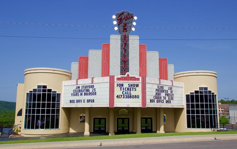 吉姆斯塔福德喜剧和音乐会活表现中心 免版税库存图片