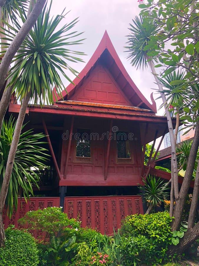 吉姆汤普森博物馆在泰国,曼谷 免版税库存图片