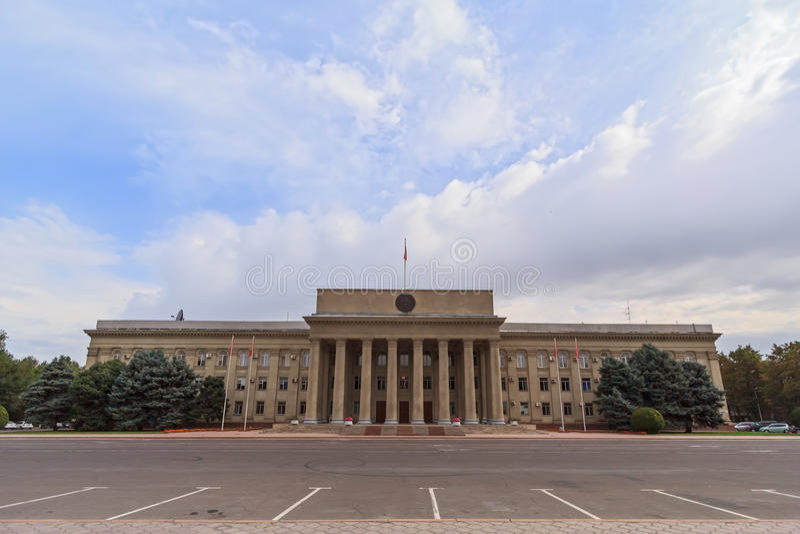 吉尔吉斯斯坦共和国的政府 图库摄影