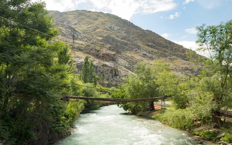 吉尔吉斯斯坦的本质 库存图片