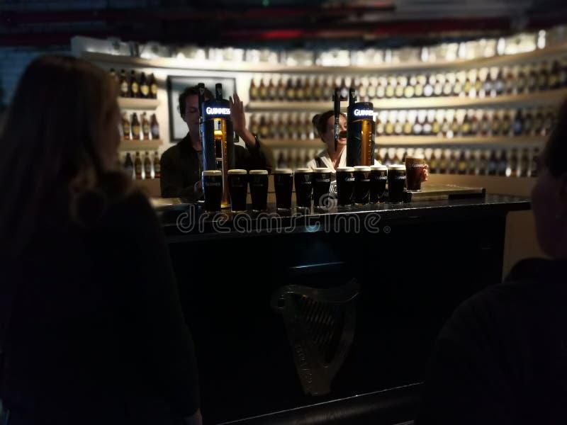 吉尼斯啤酒 免版税库存图片