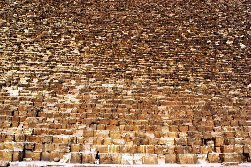 吉萨棉极大的金字塔 免版税库存图片