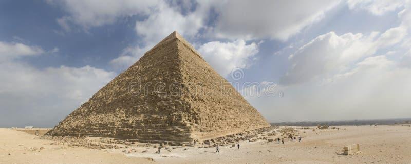吉萨棉极大的金字塔 免版税图库摄影