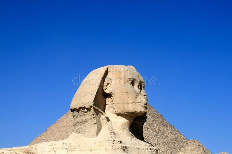 吉萨棉狮身人面象在埃及 免版税图库摄影