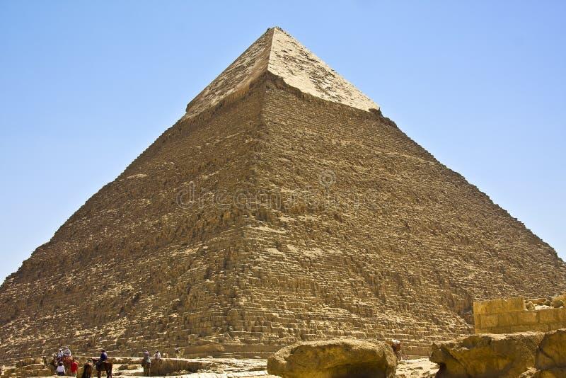 吉萨棉金字塔 图库摄影