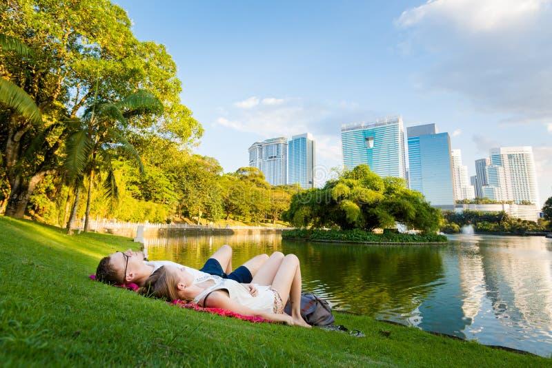 吉隆坡中央公园马来西亚 免版税库存照片