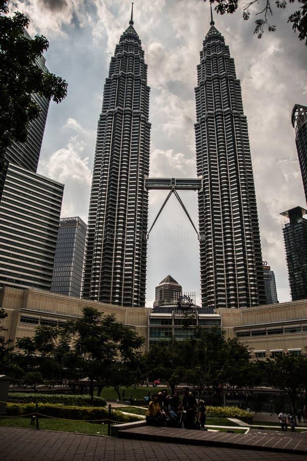吉隆坡双峰塔 免版税图库摄影