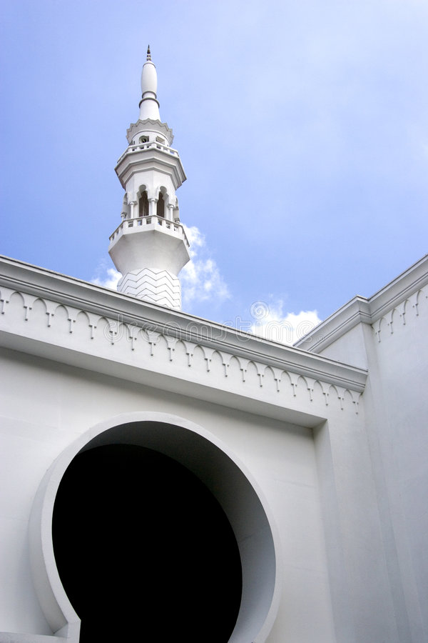 吉隆坡清真寺 免版税库存照片