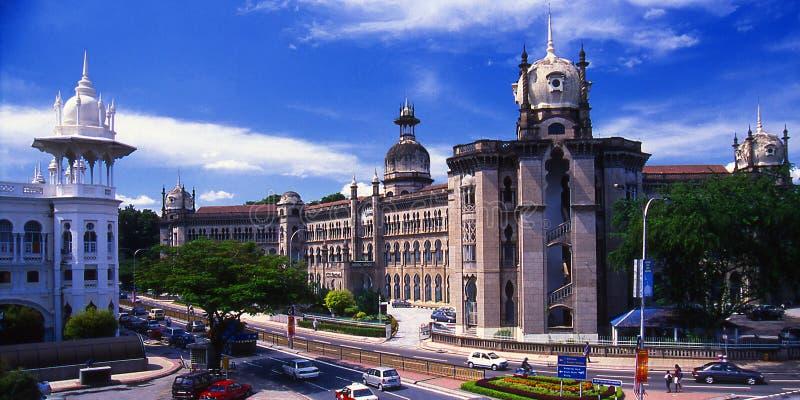 吉隆坡火车站 免版税库存照片