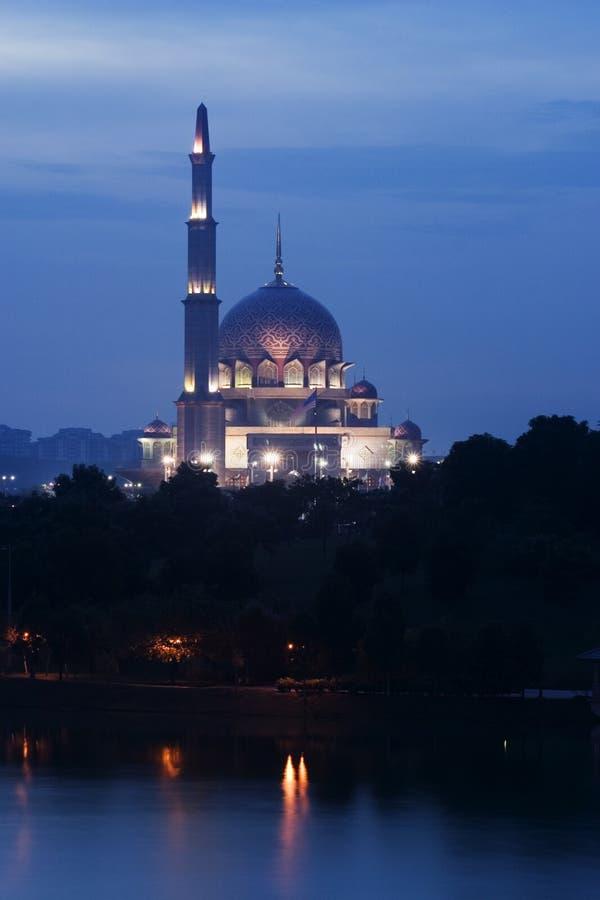 吉隆坡马来西亚清真寺putrajaya 免版税库存图片