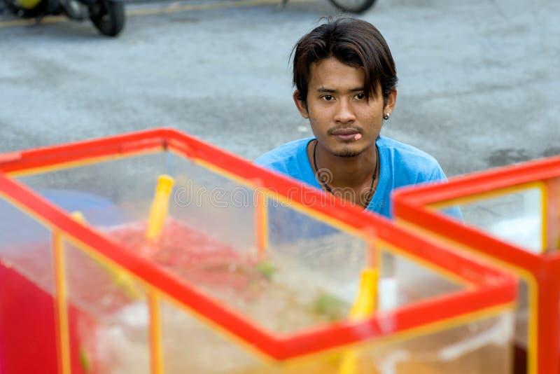 吉隆坡,唐人街调味了饮料 免版税库存照片