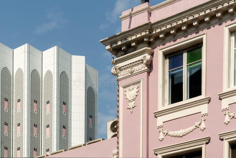 吉隆坡,老殖民地大厦 库存图片