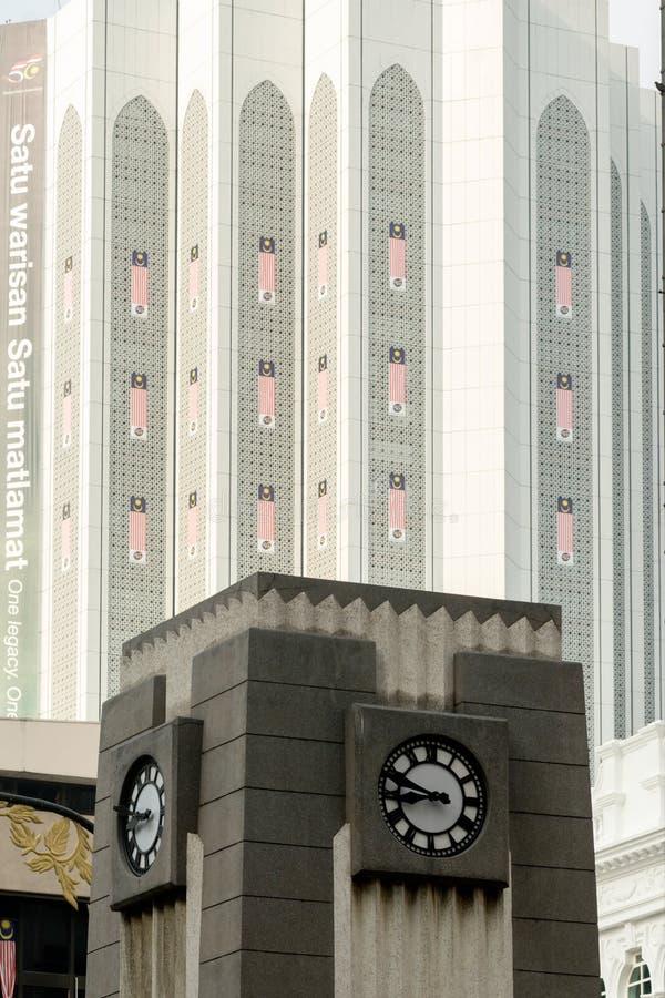 吉隆坡,老殖民地大厦 免版税库存图片