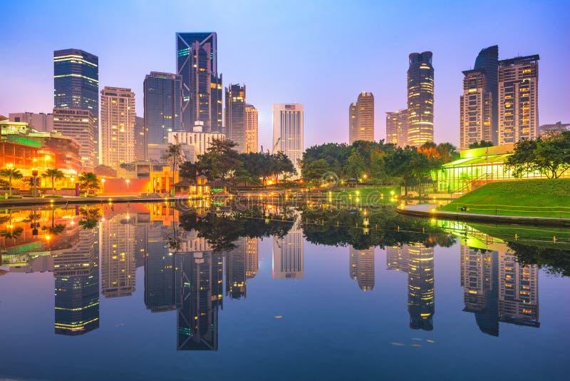 吉隆坡,马来西亚都市风景 免版税库存图片