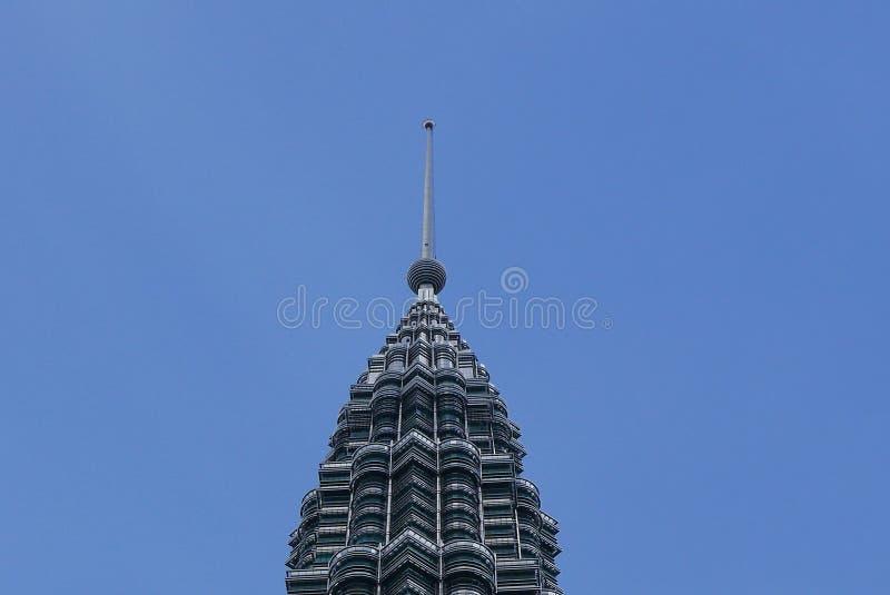 吉隆坡,马来西亚- 2018年3月4日:双峰塔的看法在KLCC市中心 图库摄影