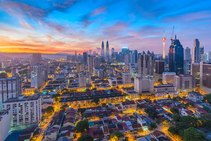 吉隆坡,马来西亚 库存照片