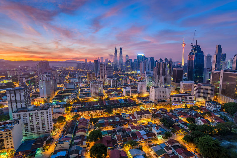 吉隆坡 免版税库存图片