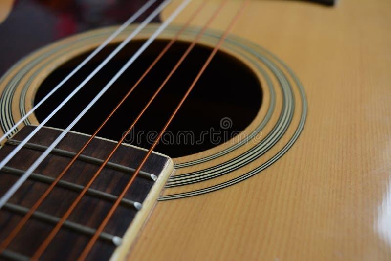 吉他墙纸 库存照片