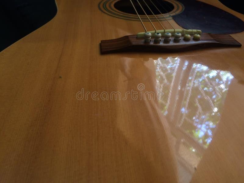 吉他迷离 免版税图库摄影