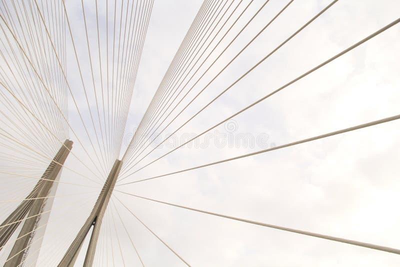 吊桥几何  免版税库存图片