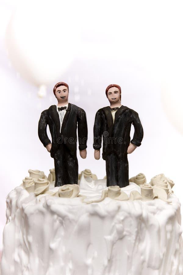 同性恋婚姻 免版税库存图片