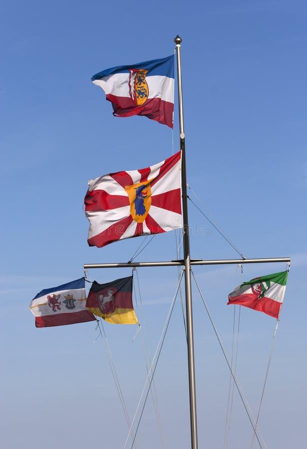 同胞国家旗子  库存图片