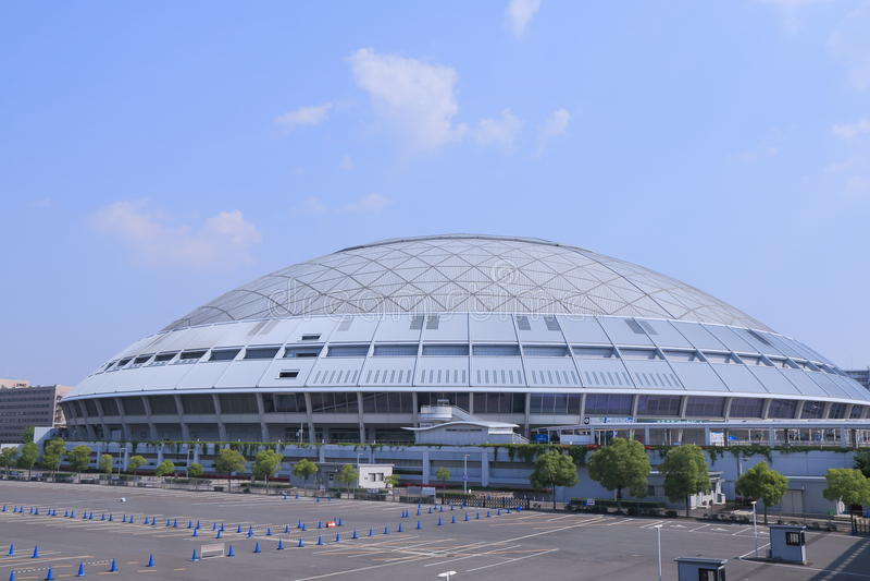 名古屋圆顶棒球场名古屋日本 库存图片