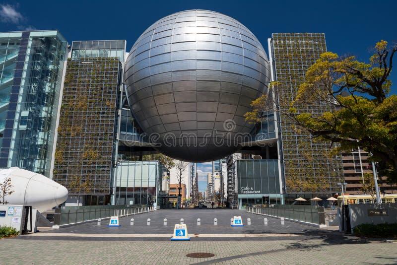 名古屋市科技馆大厦 免版税库存图片