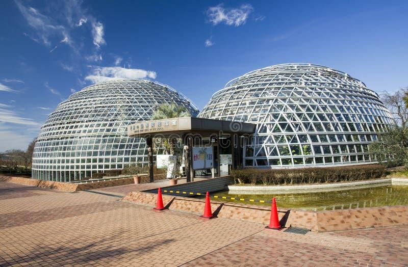 名古屋果子公园玻璃温室,日本 库存图片