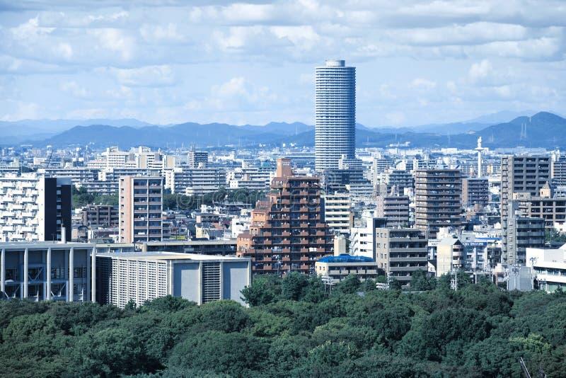 名古屋都市风景 免版税库存照片