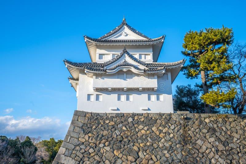 名护屋城地标西南塔楼在名古屋,日本 免版税库存图片